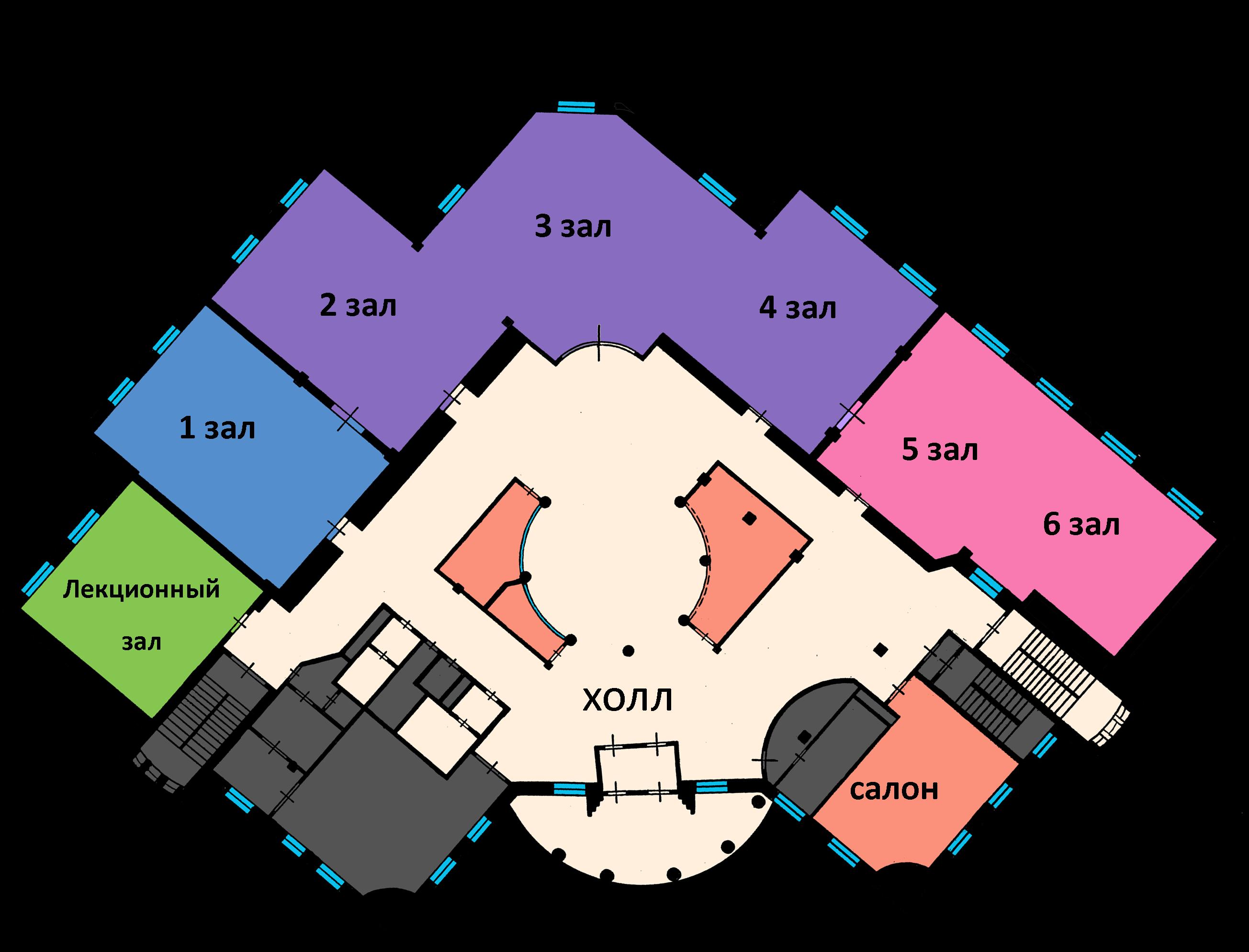 Как сделать планировку зал